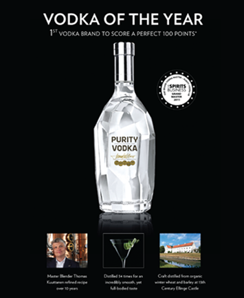 adrian naccari purity vodka print ad
