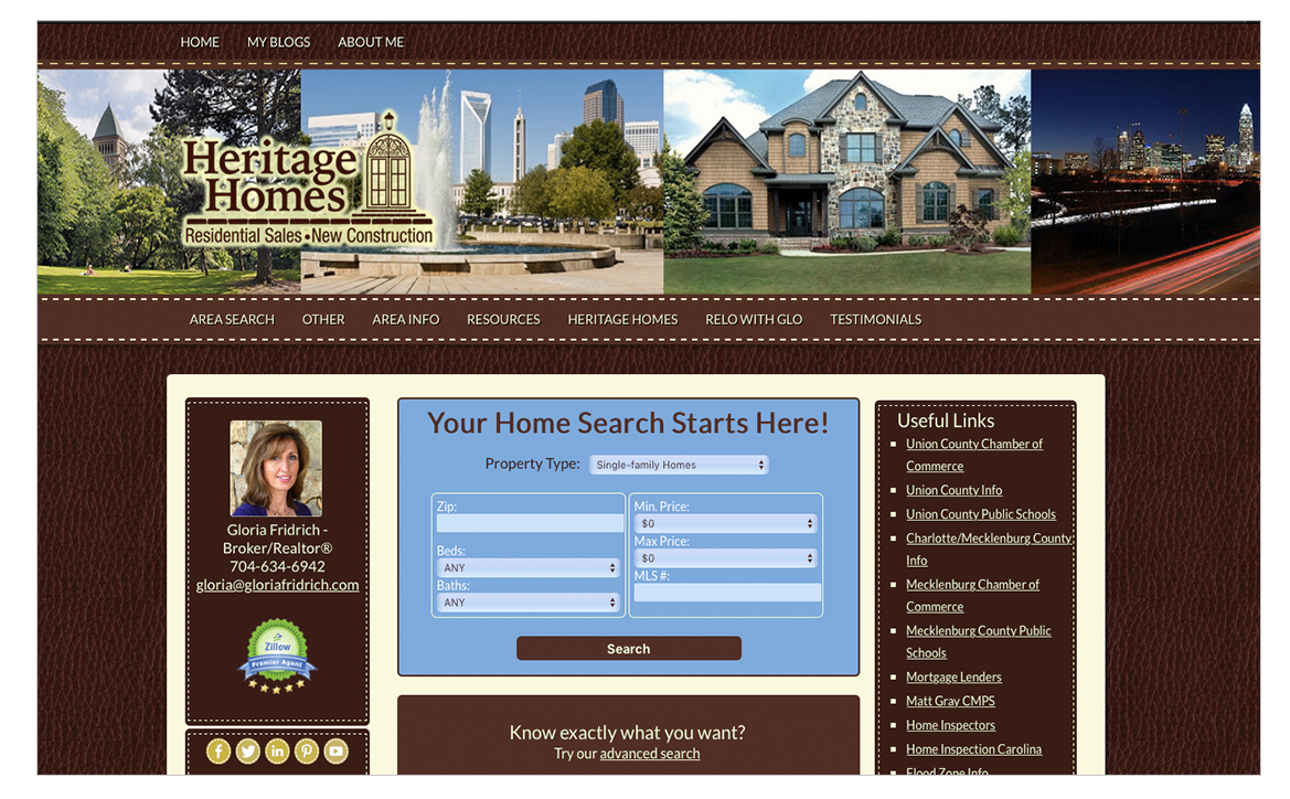 adrian naccari Heritage Homes Wordpress Site